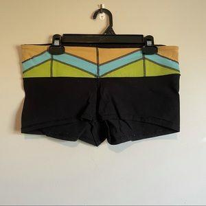 Lululemon reversible booty shorts